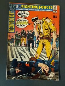 OUR FIGHTING FORCES #131 5.5 FN- UNPRESSED DC BRONZE WAR COMIC