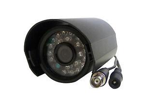 Dummy CCTV Camera 12v Black With 24 Working Led`s