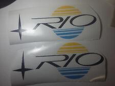 Adesivi per barca imbarcazione RIO DA 40 CM