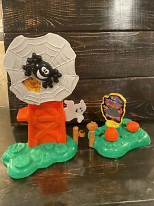 Fisher Price Little People Pumpkin Party only Halloween Trick or Treat SILO +