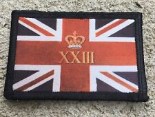 Royal Welch Fusiliers Union Jack Flag Morale Patch Tactical Military Army 23rd