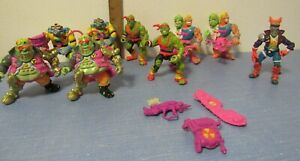 1991 Toxic Crusaders Lot - Playmates - 9 Figures+ Accessories