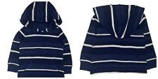 Ralph lauren sudadera con capucha de algodón de punto bebé Chicos Rayas 3-24 Genuine Factory Outlet