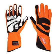 LRP Kart Racing Gloves- Freedom Gloves Black/Orange
