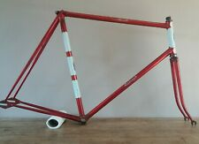 Rare Classic Lightweight RALEIGH RECORD TRACK bicycle bike frame 1966 - 24 inch