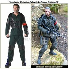 Terminator Salvation John Connor Mens Adult Deluxe Costume XL Android Assasin