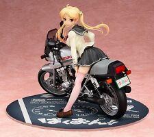 Bakuon!! Statue 1/10 Rin Suzunoki & GSX400S Katana 14 cm