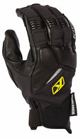 Klim Mens Black Inversion Pro Snowmobile Gloves Snow Snowcross