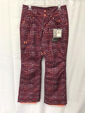 MSRP $159.99 Under Armour Women's  XStorm 3 Snow Pant Purple Orange Size Small