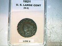 1821  U. S. LARGE CENT