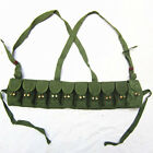 ORIGINAL CHINESE MILITARY SKS TYPE 56 SEMI AMMO CHEST-RIG BANDOLIER POUCH