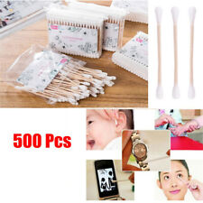 Care Disposable Nose Ears Cleaning Cotton Swabs Applicator Tool Wooden Buds