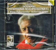 """Tchaikovsky: Symphonie no 6 """"Pathetique"""" Sinfonia Patetica / Karajan, Vienna  CD"""