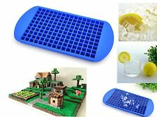 Mini cube silicone ice chocolate mould mold tray minecraft cake topper blocks