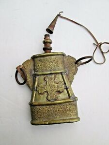 Antique Middle Eastern / Balkan Gun Powder Flask date unknown 19th century?