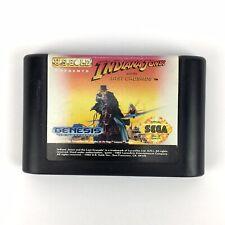 Indiana Jones and the Last Crusade Sega Genesis 1992 Cartridge Only