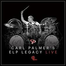 CARL PALMER'S ELP LEGACY LIVE DIGIPAK CD & DVD ALL REGIONS NTSC NEW