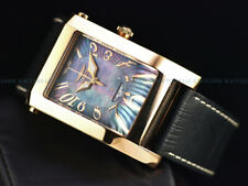 RARE Invicta Time Square Swiss Made ETA 2824 Automatic Flip Case Black MOP Watch