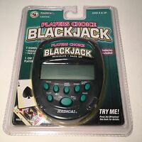 New in Package Radica Player's Choice Blackjack Handheld Electronic Game (1997)