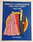 Dwight D Eisenhower and His Family Paper Dolls Mamie President History UNCUT