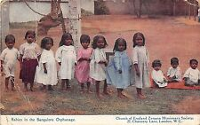 B4937 Bangalore babies in an orphanage   front/back scan