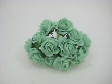 Artificial Flowers Small 2 cm Foam Roses - Bunch of 12 Wedding Bouquet Cakes,