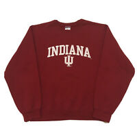 Vintage 90s Indiana University Hoosiers Sweatshirt Mens Small Pullover Stitched
