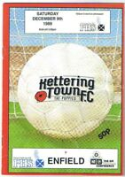 Kettering Town v Enfield 1989/90