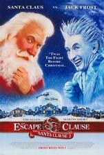 The Santa Clause 3: The Escape Clause Movie POSTER 27 x 40 Tim Allen LICENSED