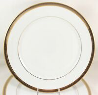"10"" DINNER PLATE ROBERT HAVILAND PARLON LIMOGES CHAMBORD RAISED GOLD PLATINUM"