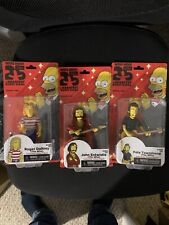 NECA Simpsons 25 Complete Band Who RODGER DALTREY PETE TOWNSHEND JOHN ENTWISTLE