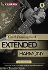 LICK LIBRARY CHORD ENCYCLOPAEDIA VOL.3 Learn to Play EXTENDED HARMONY GUITAR DVD