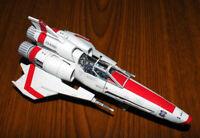 Battlestar Galactic Viper Mark 2 DIY Handcraft PAPER MODEL KIT
