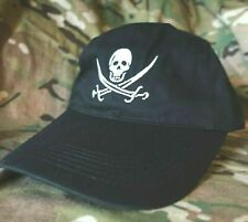 ALLIED SPECIAL WARFARE OPERATOR BASEBALL CAP: Jack Pirate Skull Cross-bone black