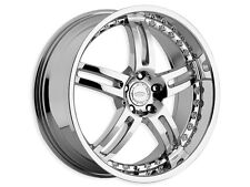 "Brand New Diamo-25 wheels 20"" Chrome (5x114.3/5x120) (Set of 4)"