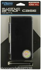 DSi XL -Cosmo Black Aluminum Case & Dual Stylus Pen Set NEW (KMD) ~Brand New~