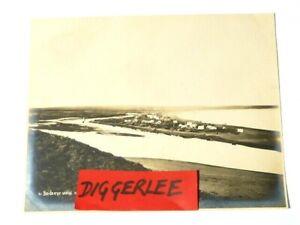 """1903 Birds Eye View Deering Alaska Nowell Original Sepia Photograph 10x8"""" #106"""