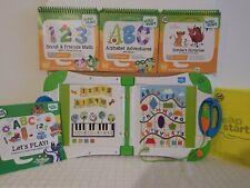 LeapFrog LeapStart Learning System with 4 Books! Used level 1 preschool SIMBA'S