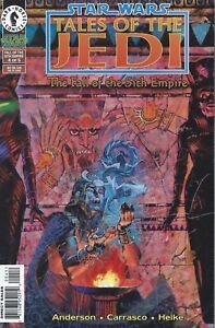 Star Wars FALL OF THE SITH EMPIRE #4 Tales Jedi Dark Horse Comics 1997 Fine