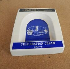 Vintage Domecq Celebration Cream sherry Advertising ashtray by wade 14x16cm az1