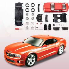 Maisto 1:24 Chevrolet Camaro SS RS Diecast Assembly Line Metal KIT DIY Model Car
