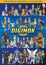 DIGIMON DIGITAL MONSTERS :COMPLETE SEASON 1 2 3 4 -  DVD - REGION 1 - Sealed