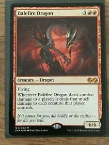 Balefire Dragon Foil - UMA - MTG - NM/Mint