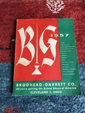Vintage Brodhead-Garrett Co. 1957 Catalogue Profusely Illustrated 375 Pages
