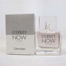 Eternity Now By Calvin Klein .5oz/15ml Edt Splash For Men New In Box