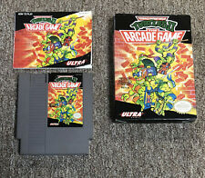 New ListingTeenage Mutant Ninja Turtles Ii Arcade (Nintendo Nes, 1990) Box + Manual, CiB