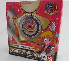 Sailor Moon Star Locket Music Box Gold Moonlight Memory Series BANDAI Used
