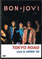 BON JOVI - TOKYO ROAD LIVE IN JAPAN '85 (EX0604) NTSC REGION 0 DVD
