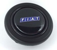 Fiat logo steering wheel horn push button. Fits Momo Sparco OMP Nardi Raid etc