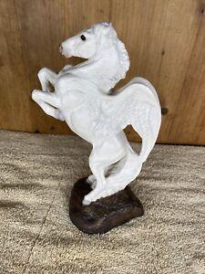 Windstone Editions White Male Pegasus Sculpture
